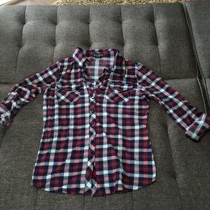 Wet seal button up shirt size S junior